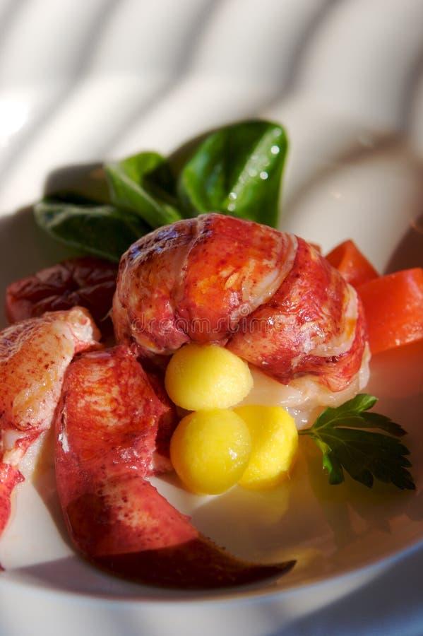 sałatka z homara zdjęcia royalty free