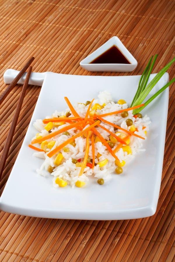sałatka z ryżu obrazy stock