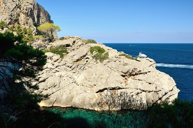 Download Sa Calobra, Majorca stock photo. Image of travel, mountain - 33882734