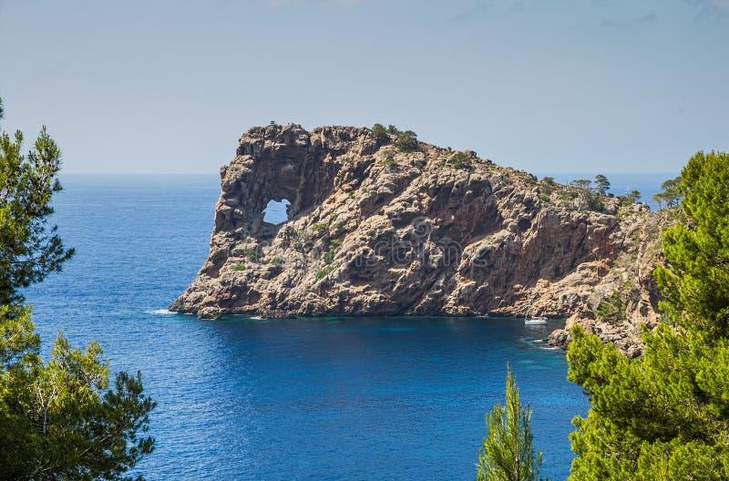 Sa Foradada i Mallorca royaltyfri foto