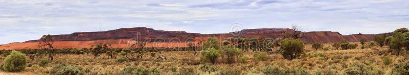 SA het panorama van Horiz van de ijzerknop stock foto's