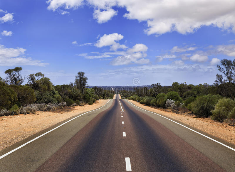 SA Road Hor perspective stock photo