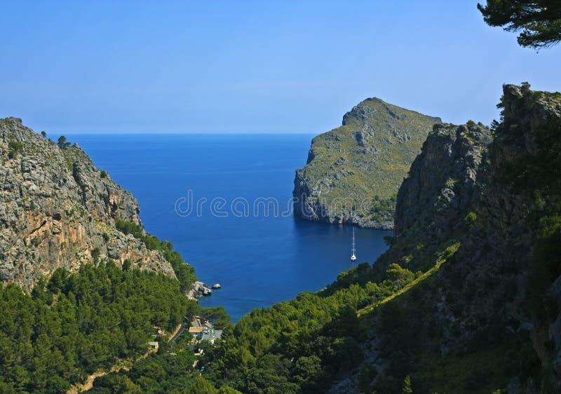 Sa Tranquilo Calobra, Majorca Imagen de archivo libre de regalías