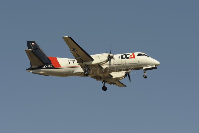 Saab 340B 库存照片
