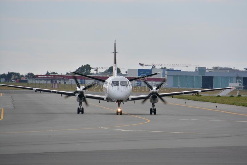 Saab 340A arkivbilder