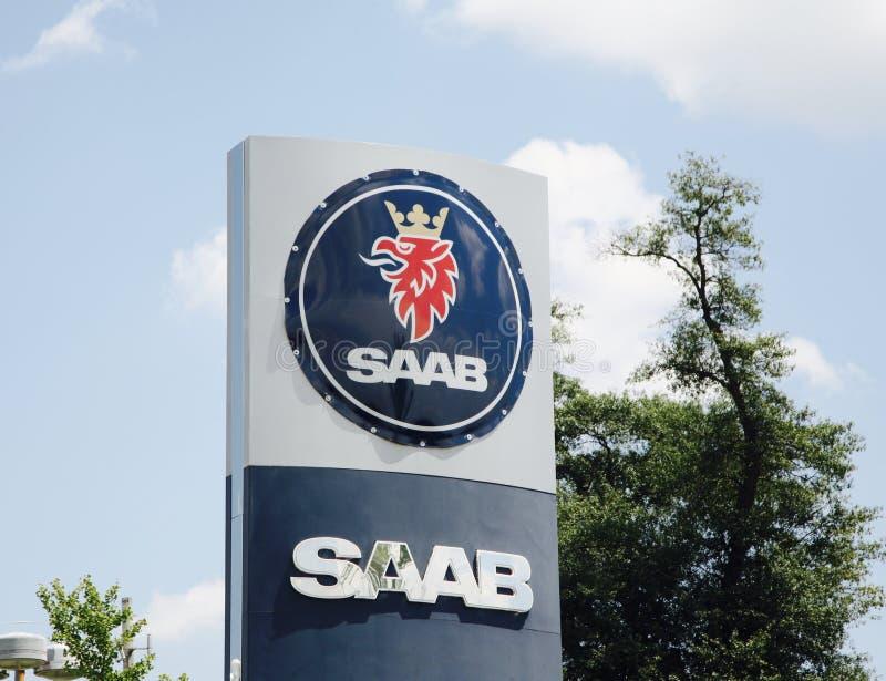 Saab Automobile Corporation 图库摄影
