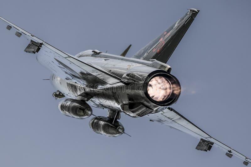 Saab J35 Draken lizenzfreie stockfotografie