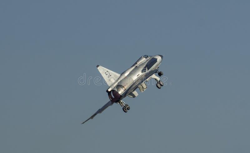 Saab Viggen Air Display image libre de droits