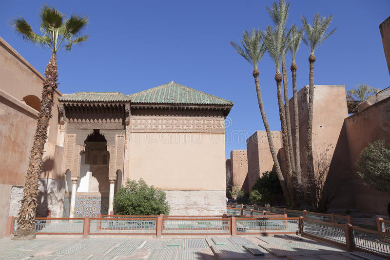 The Saadian tombs royalty free stock images