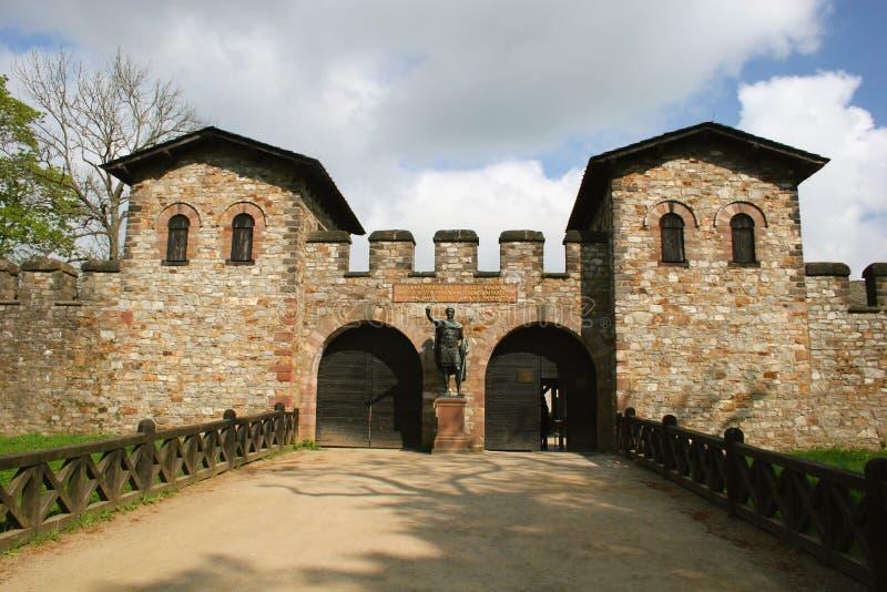 saalburg Германии roma замока стоковая фотография