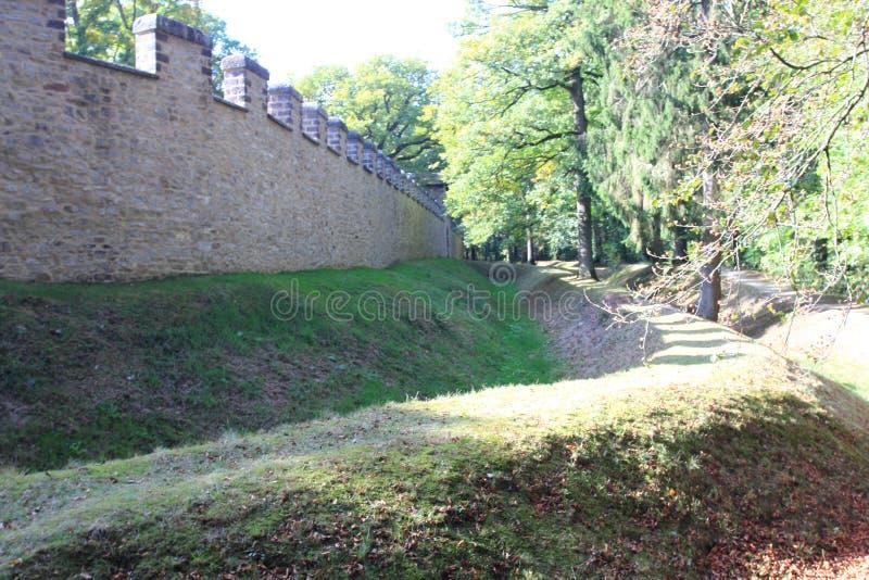 Saalburg Allemagne images libres de droits