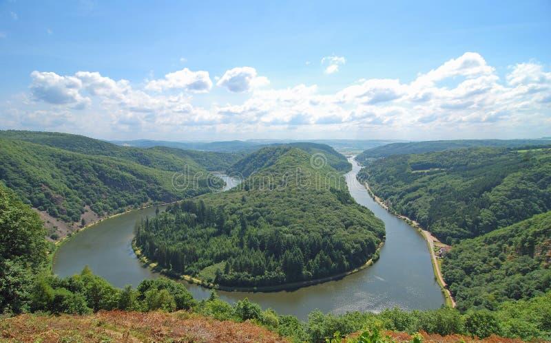 Saar Bow,Saar River,Germany Stock Photos