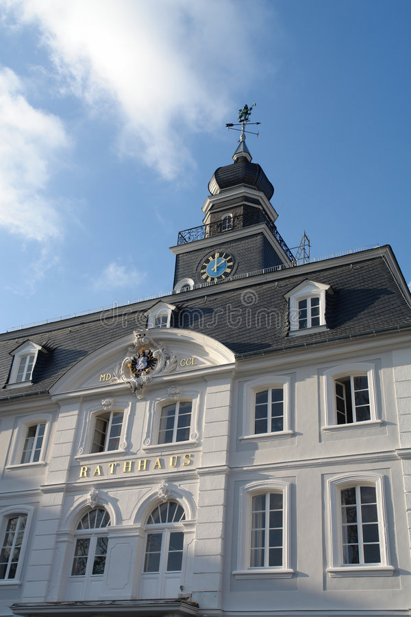 Download Saarbruecken Town Hall stock image. Image of hall, light - 609045