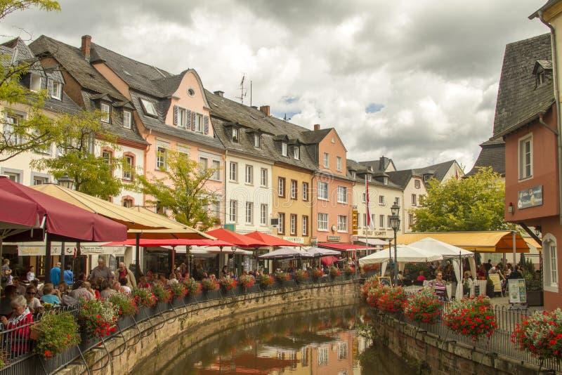 Saarburg, Γερμανία στοκ εικόνα με δικαίωμα ελεύθερης χρήσης