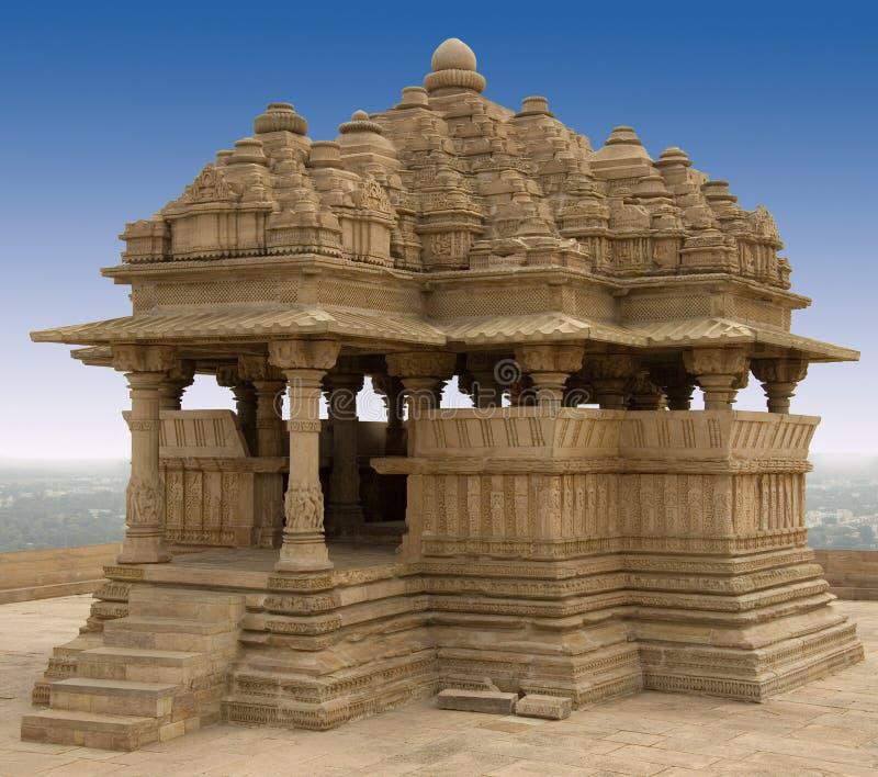 Saas Bahu - fortaleza de Gwalior - la India fotos de archivo