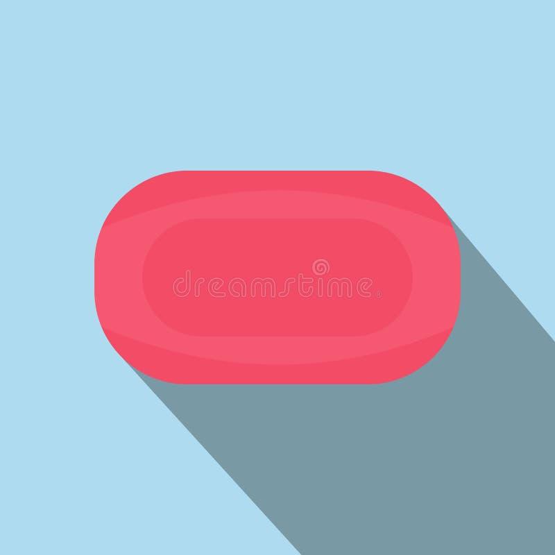 Sabão cor-de-rosa liso ilustração stock