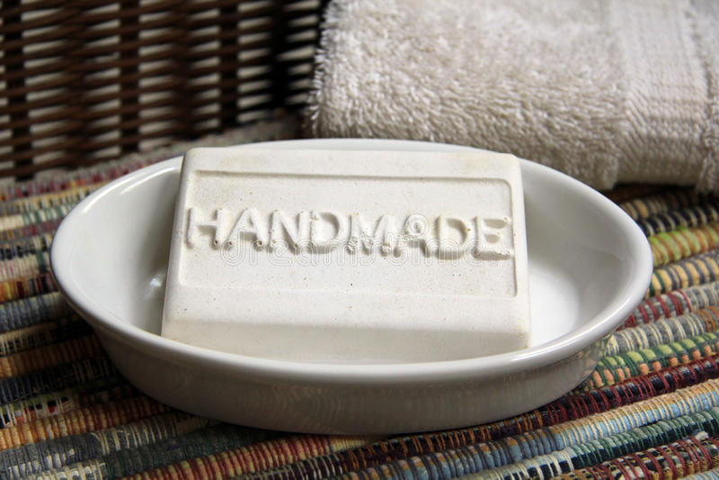 Sabão Handmade imagem de stock