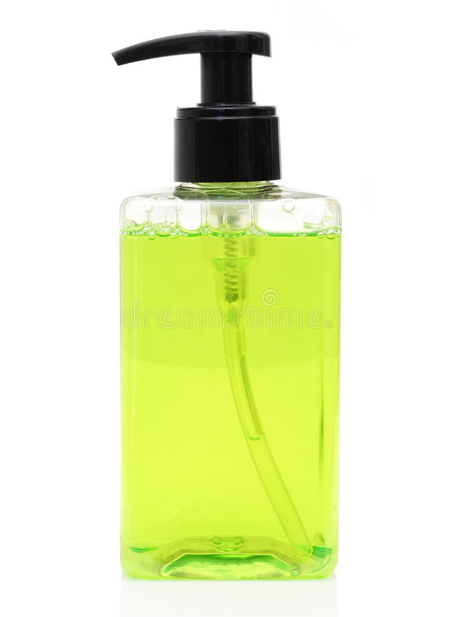 sabão líquido fotografia de stock