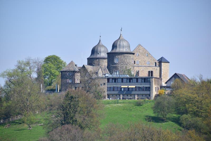 Sababurg-Schloss lizenzfreies stockfoto