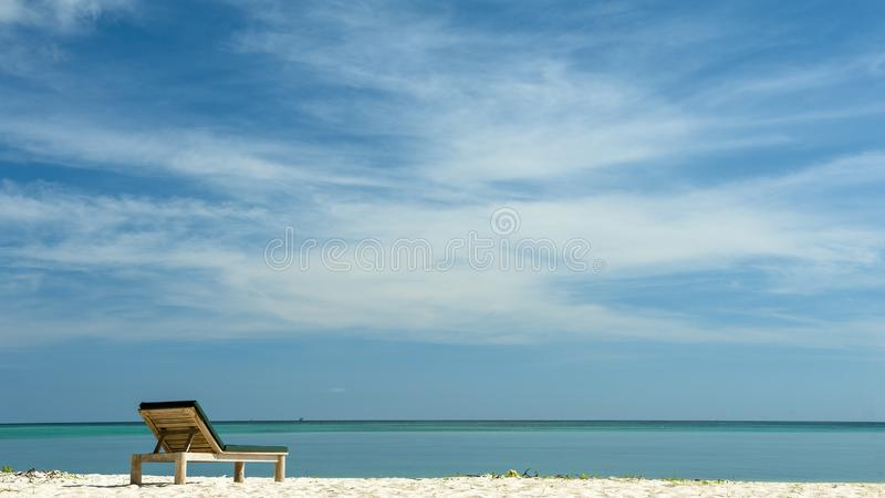 Sabah Mermaid Island. Mantanani Island is nicknamed Mermaid Island. It is a 30-minute ferry ride from Kota Kinabalu. It consists of three outlying islands. It is royalty free stock photo