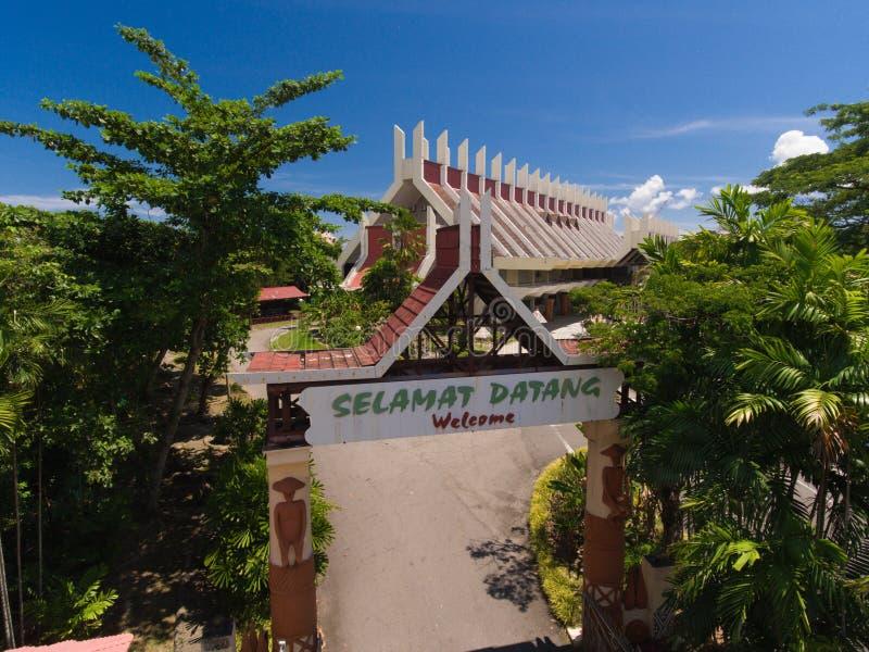 Sabah muzea fotografia royalty free