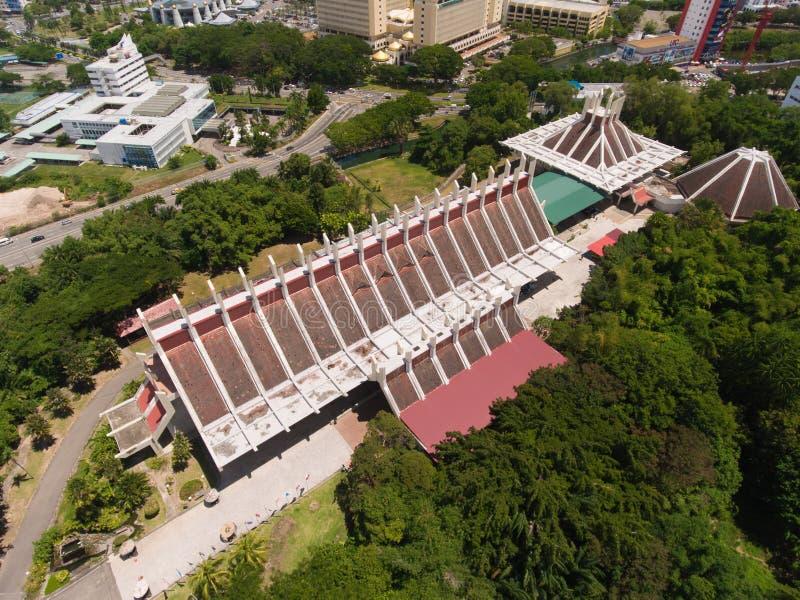 Sabah muzea zdjęcie royalty free