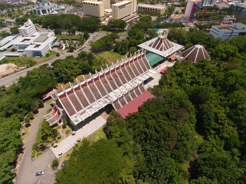 Sabah muzea zdjęcie stock