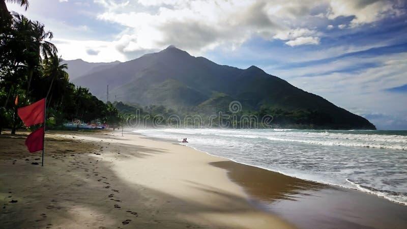 Sabang plaża, Palawan fotografia royalty free