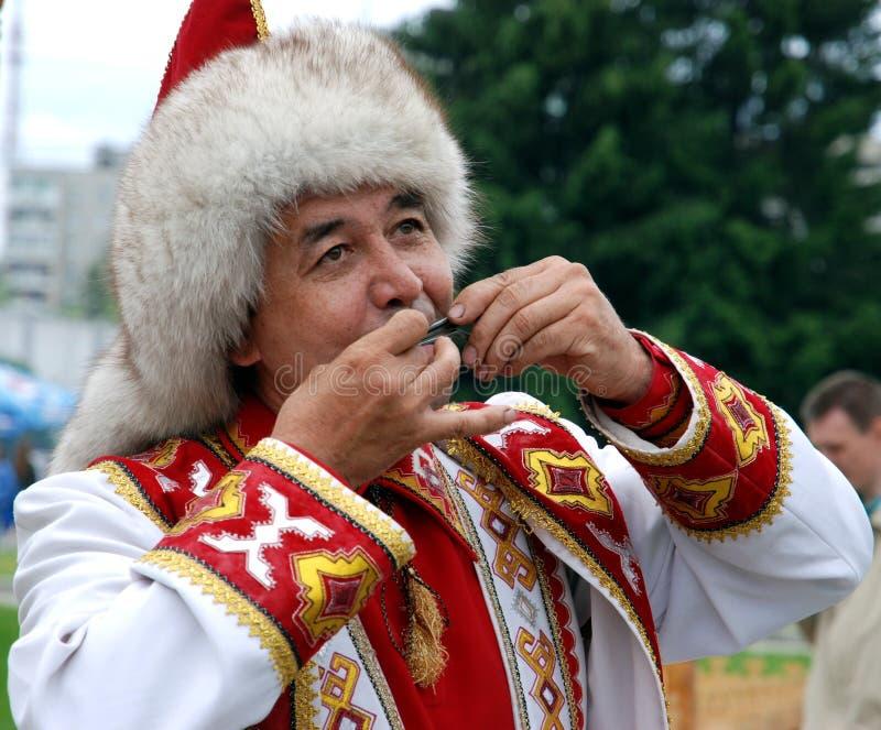 Sabantuy, arado del día de fiesta, Ykaterinburg. imagen de archivo libre de regalías