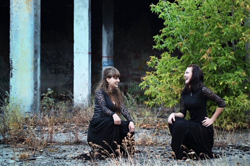 Sabat w ruinach zdjęcie stock