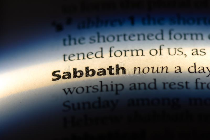 sabbath royalty free stock images