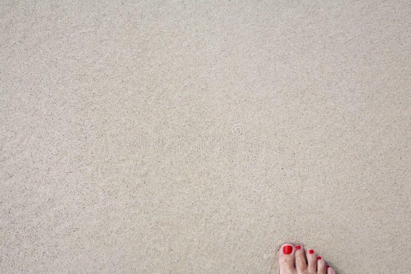Sabbia della spiaggia immagine stock libera da diritti