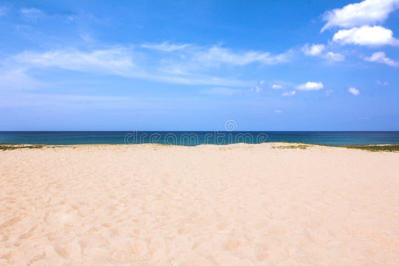 Sabbia della spiaggia di Karon della spiaggia fotografie stock