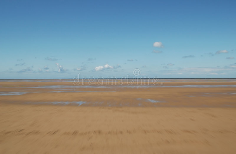 Sabbia di spostamento fotografie stock