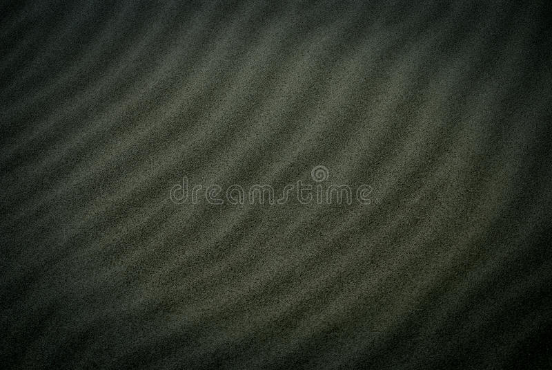Sabbia nera fotografia stock libera da diritti