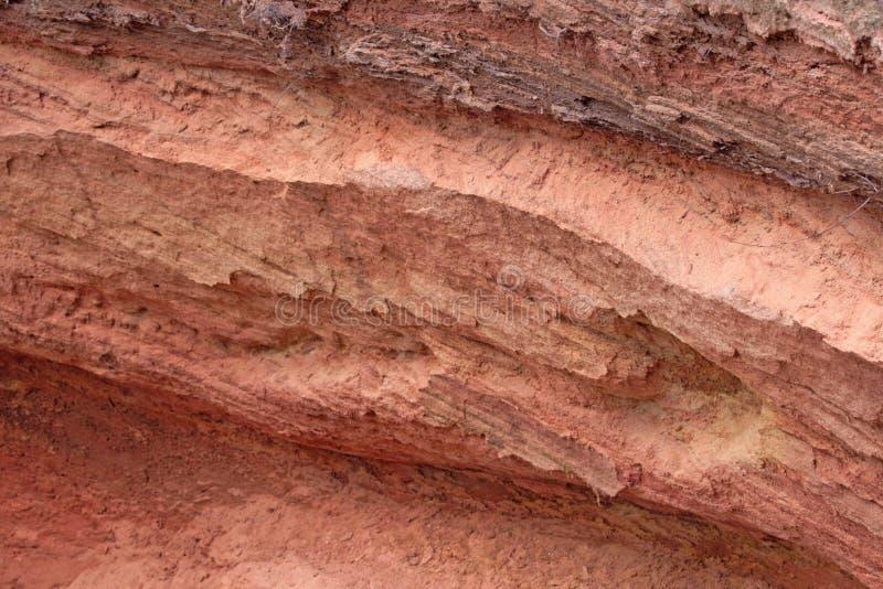 Sabbia rossa immagini stock