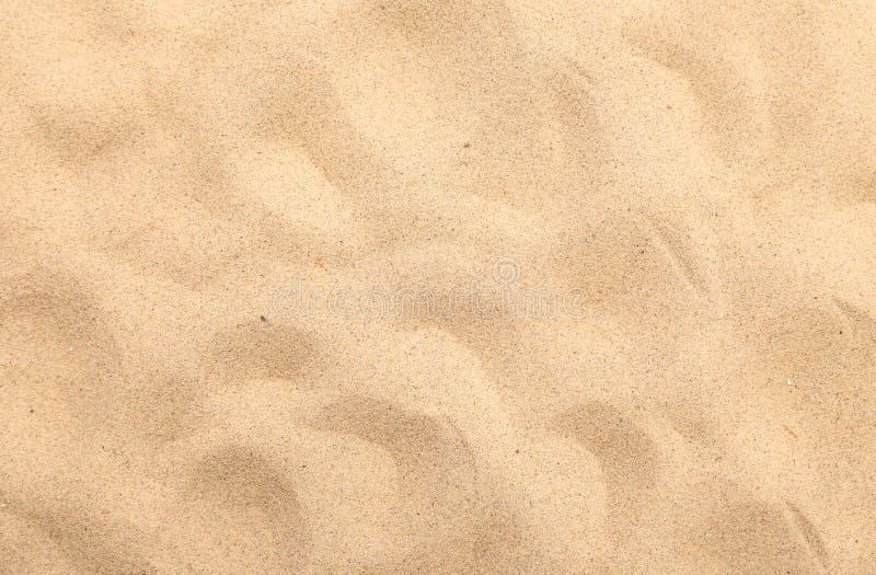 Sabbia senza cuciture su un intero fondo. Struttura. immagini stock libere da diritti