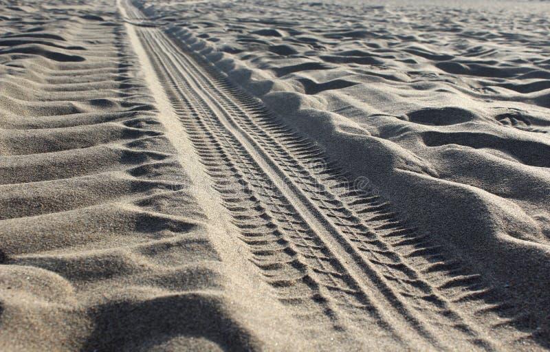 Sabbia stradale fotografie stock