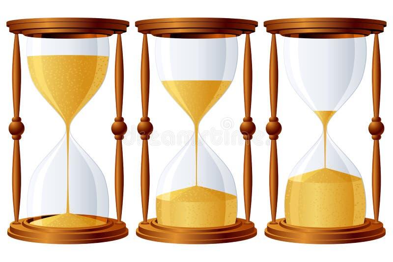 Sabbia-vetri. illustrazione vettoriale
