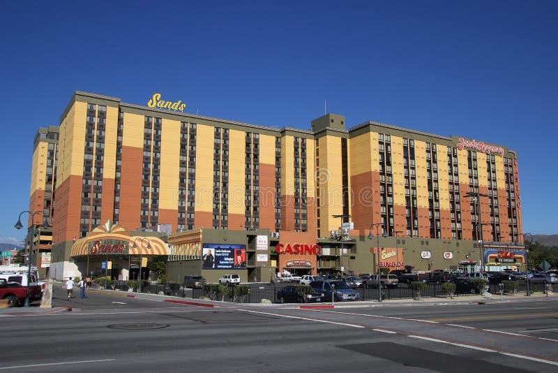 Sabbie hotel e casinò a Reno, Nevada immagine stock