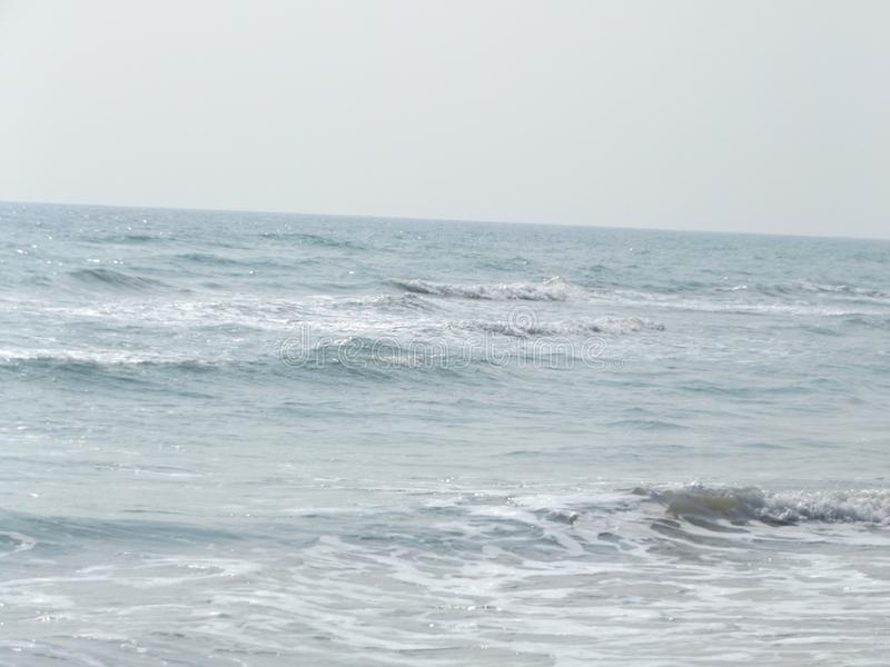 Sabbie, spiaggia e Sun caldo fotografie stock libere da diritti