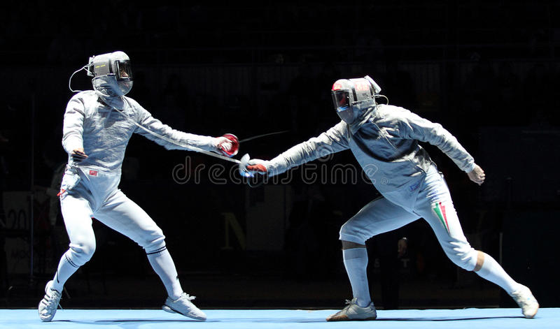 Download Saber World Fencing Tournament Editorial Photo - Image: 13507006