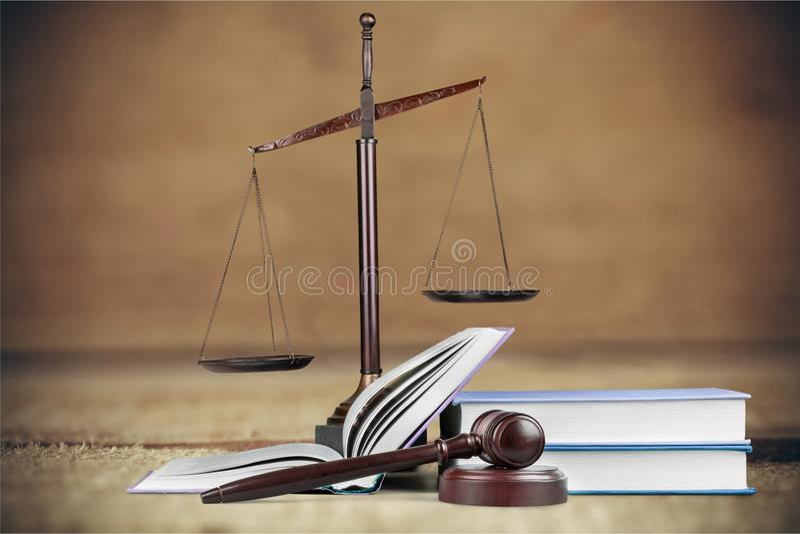Sabiduría legal fotografía de archivo libre de regalías
