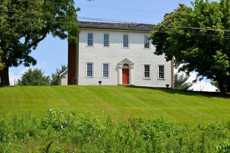 Sabine Hill, Camera 1818 costruita da generale Nathaniel Taylor fotografia stock