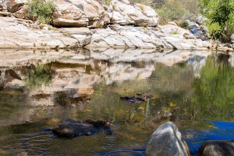 Sabino Canyon immagine stock
