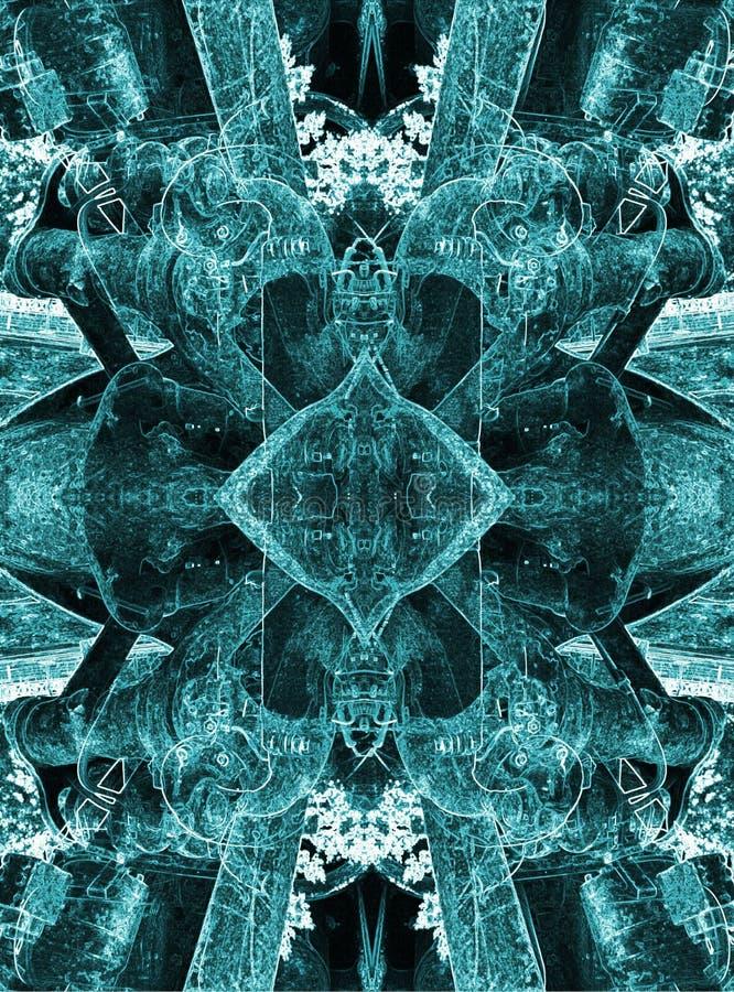 Sabio 003 de Grunge imagen de archivo libre de regalías