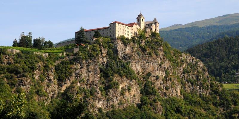 Download Sabiona Monastery, Chiusa, Klausen, Valle Isarco, Bolzano, Trentino Alto Adige Stock Image - Image of tower, horizontal: 83715649