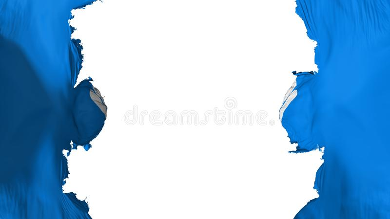 Sabla CIS flagga vektor illustrationer