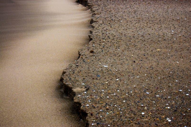 sable érodé images libres de droits
