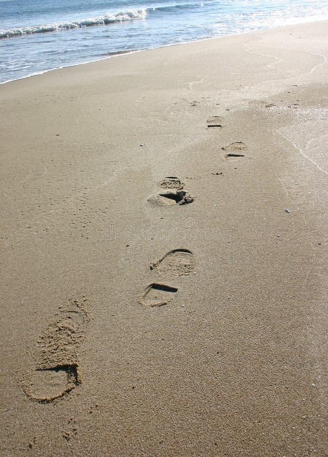 sable de marchepieds photographie stock